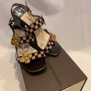 Louis Vuitton Cuir Damier Sauvage Shoes.